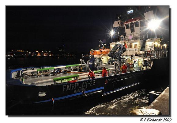 Hafenschlepper während der 19. Hanse-Sail in Rostock-Warnemünde