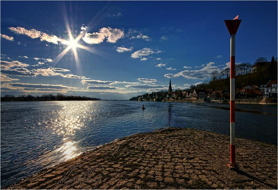 Hafenspitze Lauenburg