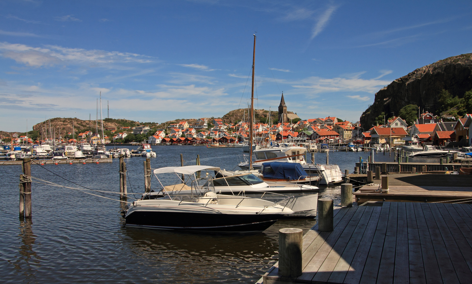 Hafenstädtchen am Skagerrak