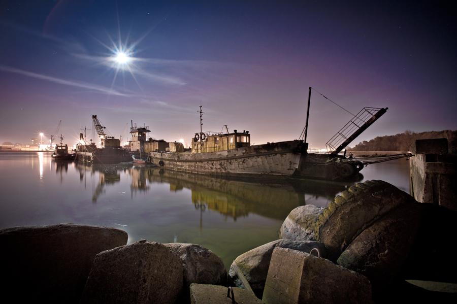 Hafenstille