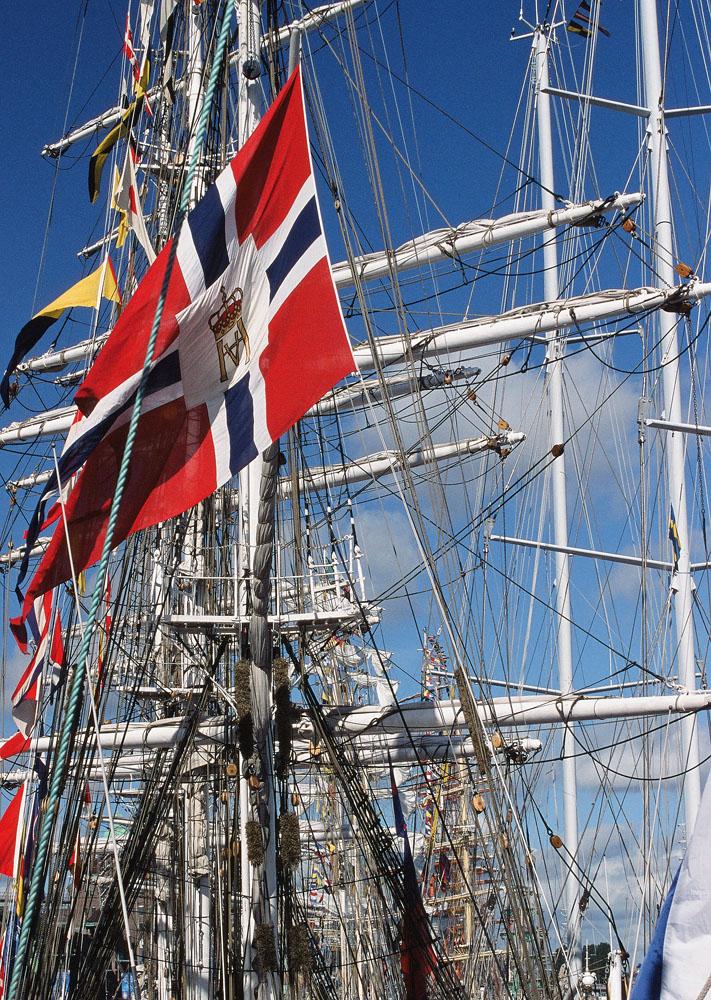 Hafenstimmung in Stockholm