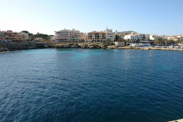 Hafenzone von Cala Rajada
