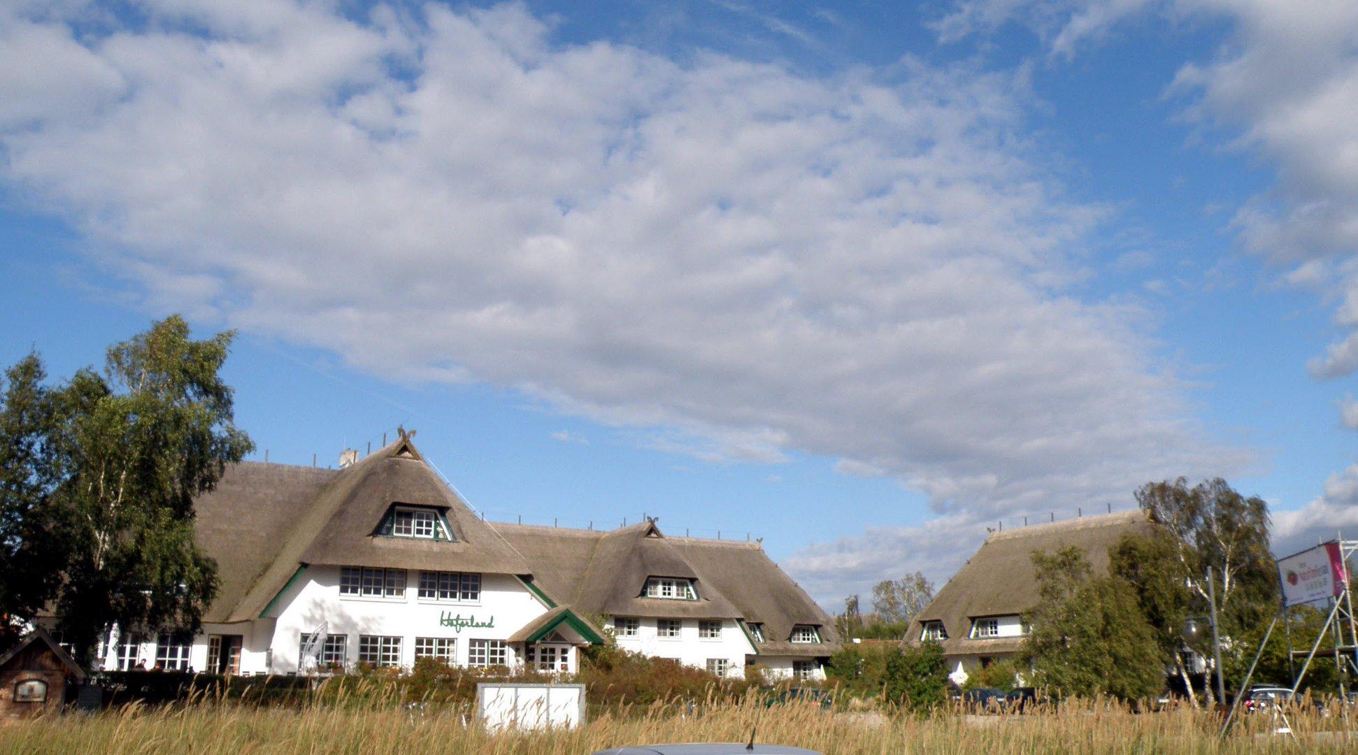 """""""Haferland"""" Hotel in Wieck/Darß"""