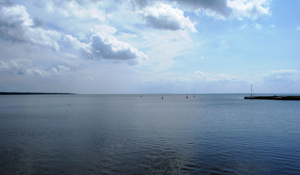 Haff Kaminke ( Insel Usedom )