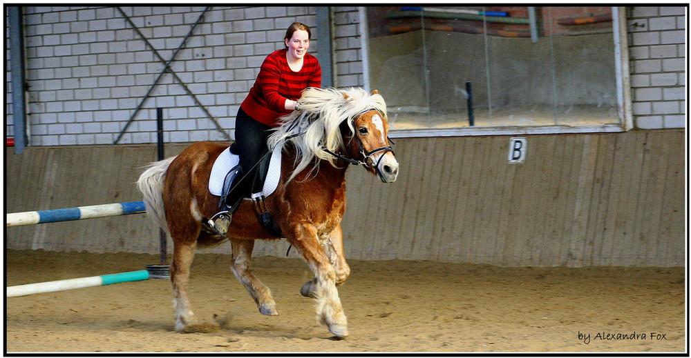 . Hafipower under the saddle II .
