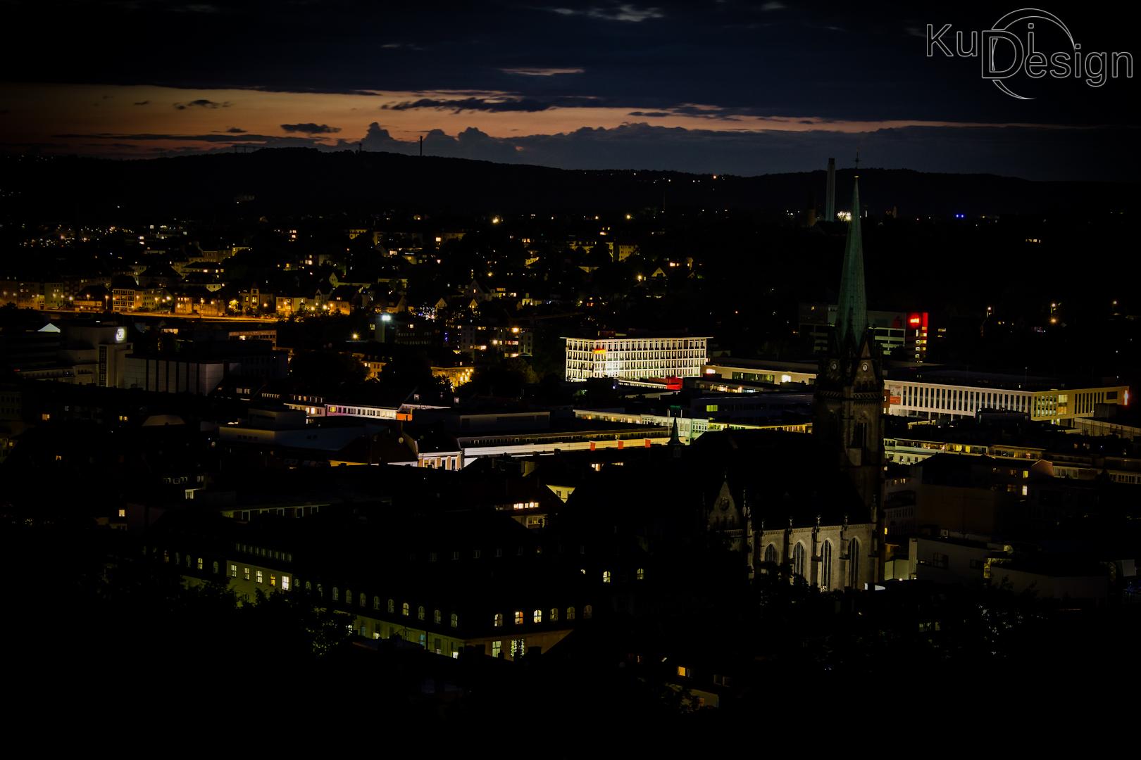 Hagen bei Nacht