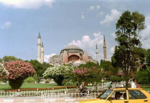 Hagia-Sofia-Moschee in Istanbul / Türkei