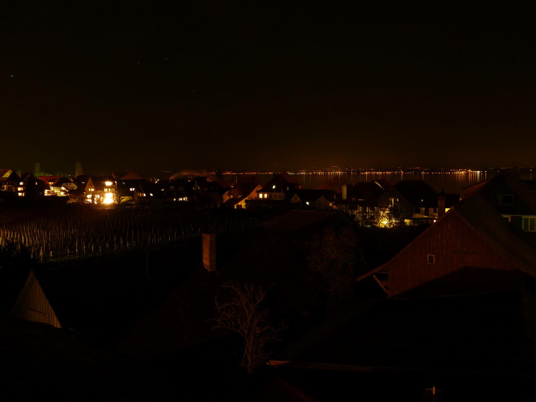 Hagnau bei Nacht