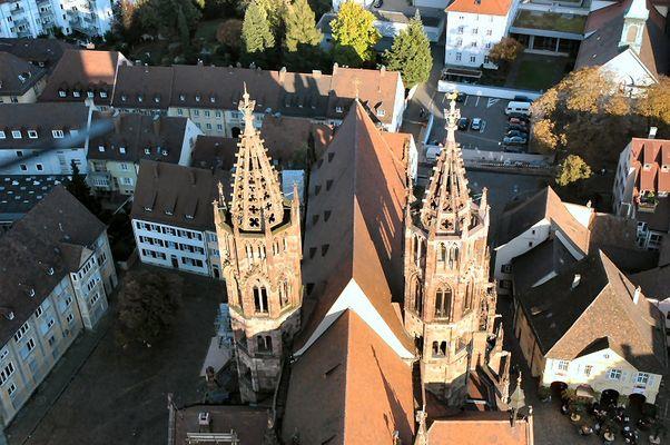 Hahnentürme des Freiburger Münsters