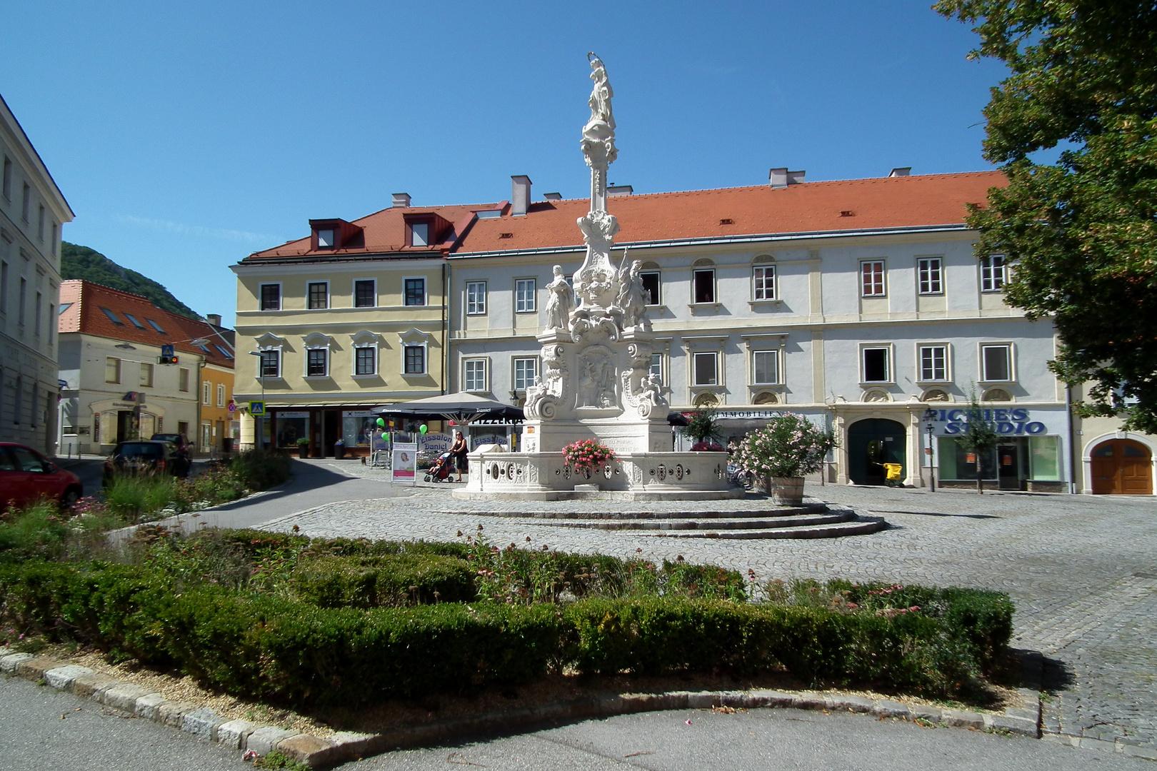 Hainburg an der Donau - Hauptplatz Foto & Bild | europe ...