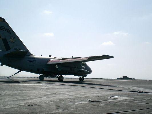 Hakenlandung auf der USS Enterprise
