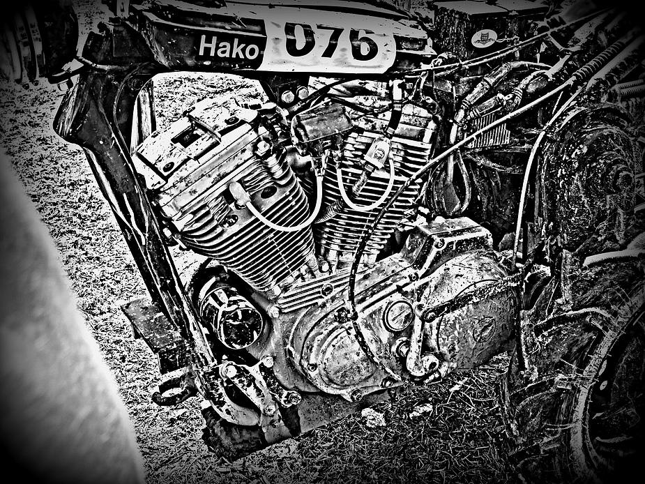 Hakorennen Ubstadt - Weiher.... Harley Motor