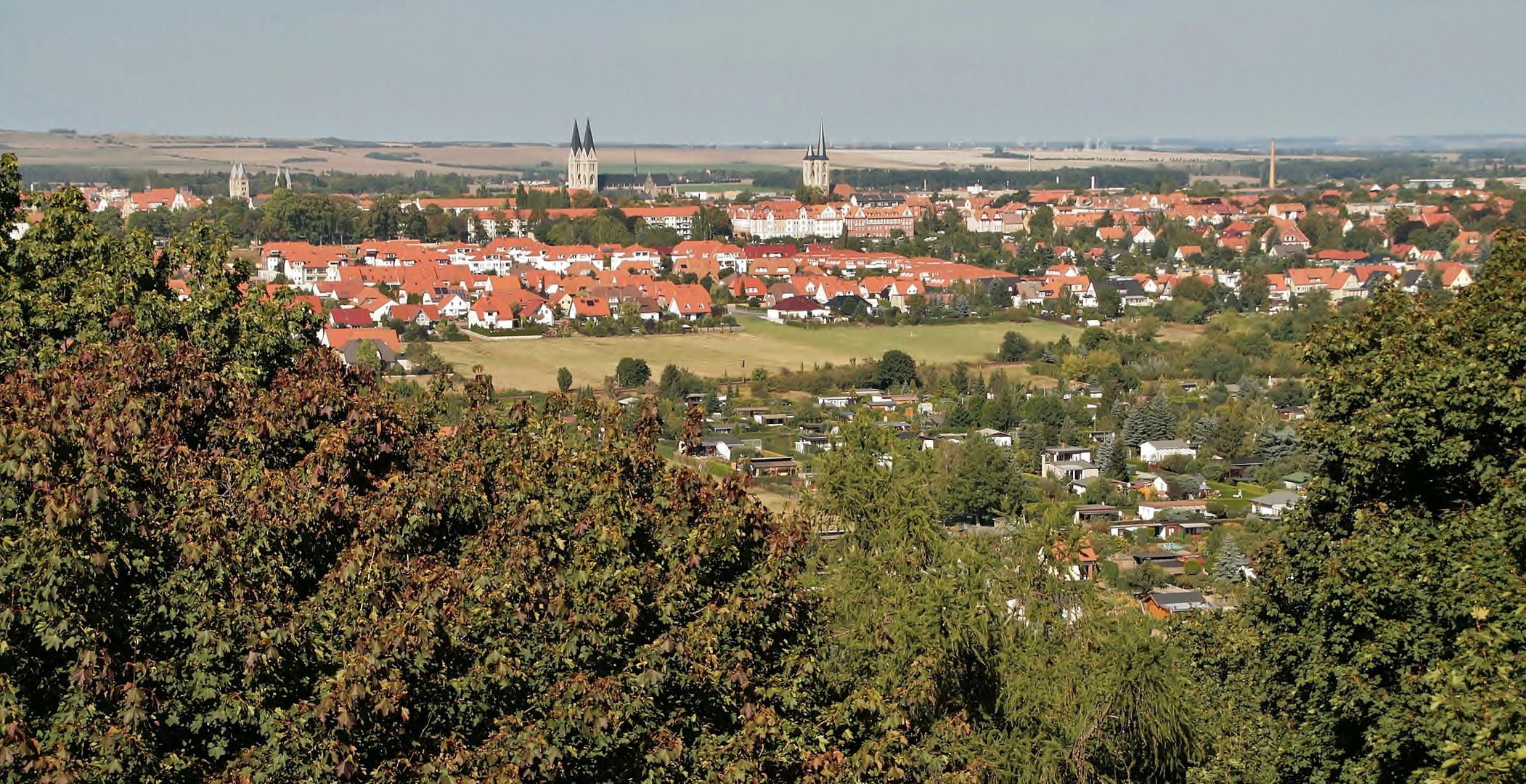Halberstadt vom Bismarckturm
