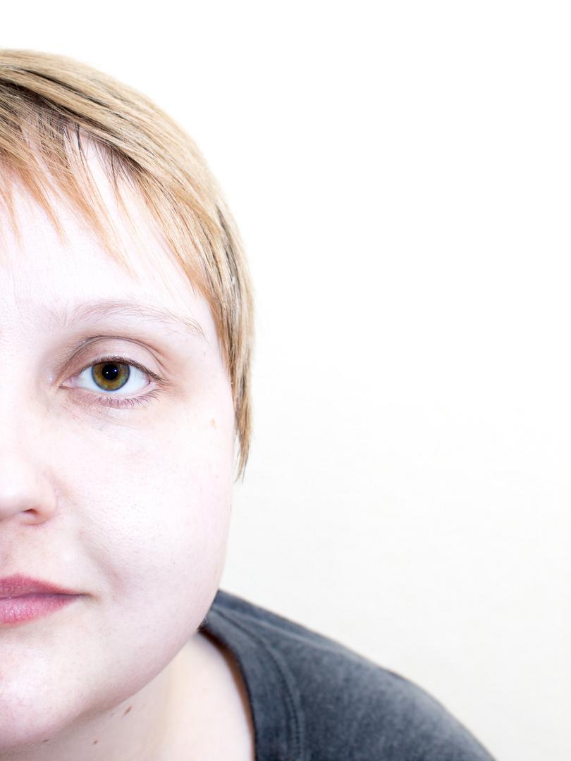 Halbes Portrait