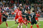 Halbfinalrückspiel um die Deutsche Meisterschaft 1.FC Köln - SC Freiburg
