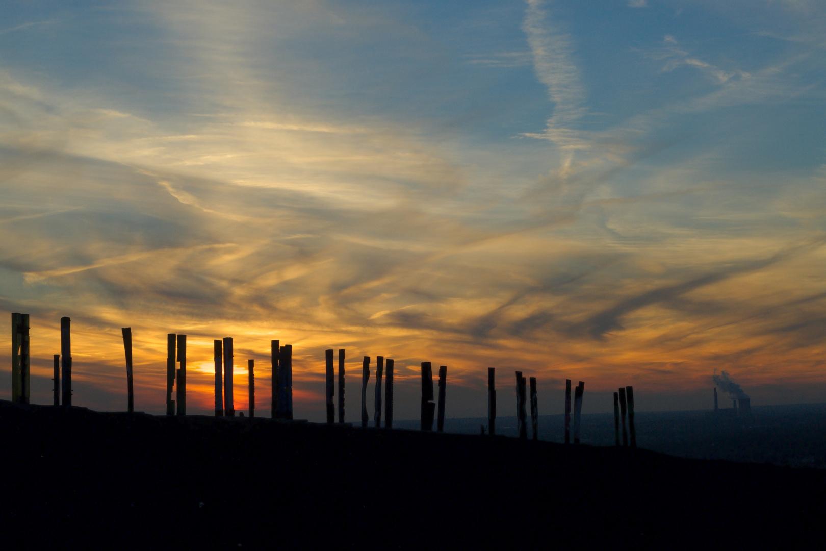Halde Haniel Bottrop sunset