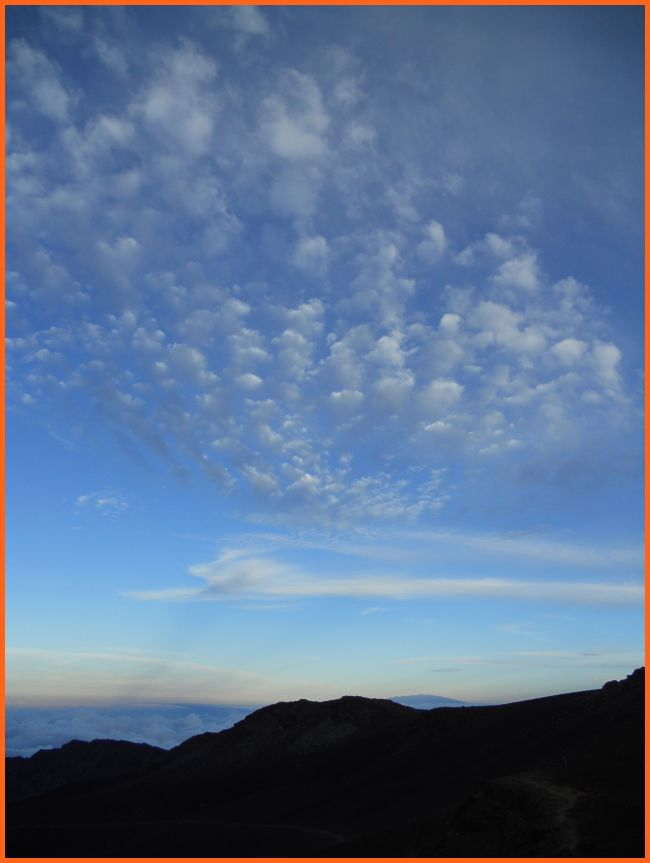 Haleakal und Mauna Loa