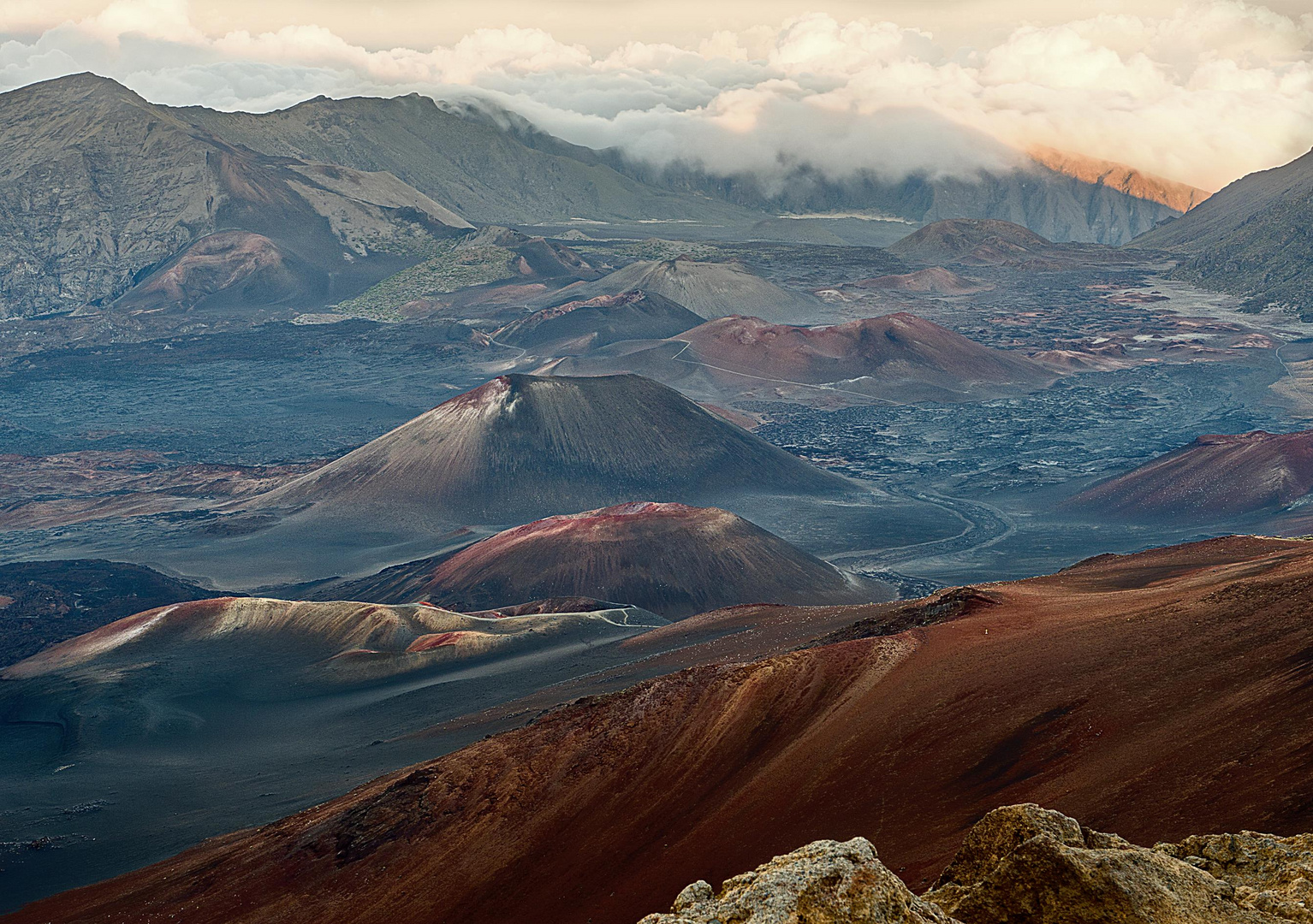 Haleakala Krater 1