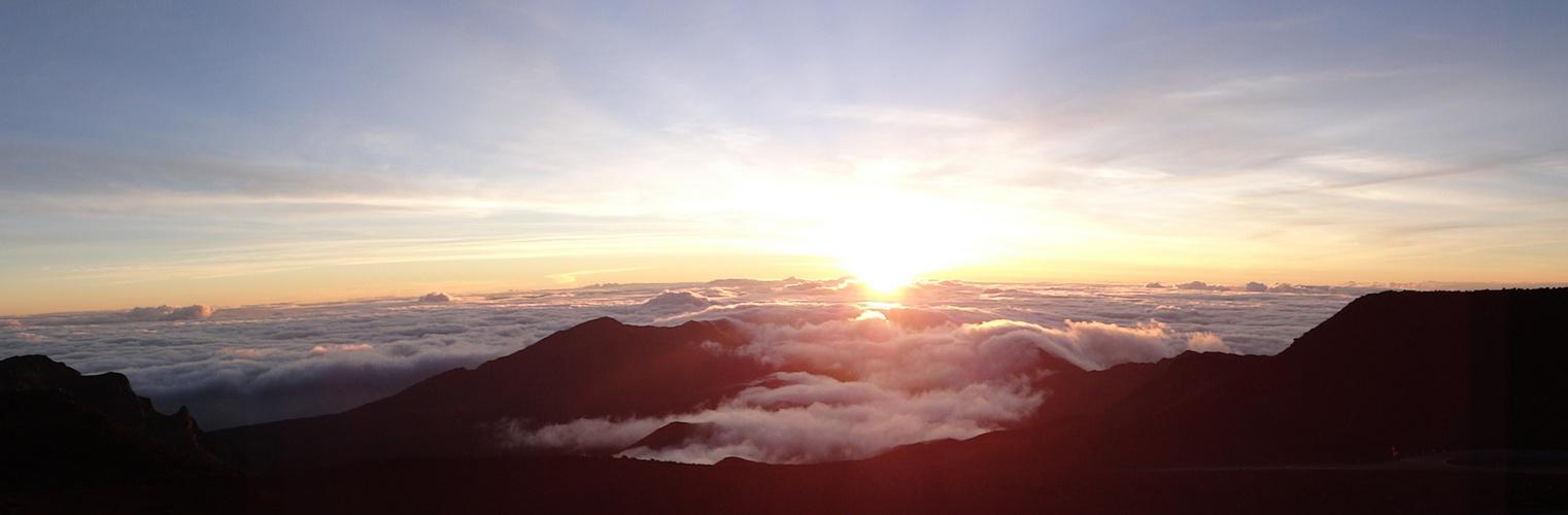 Haleakala Krater - Sunrise auf 3055m Höhe !