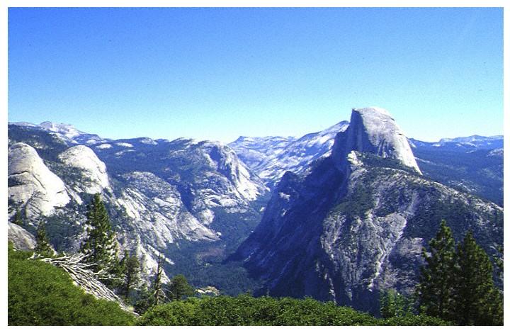 Halfdome im Yosemite National Park