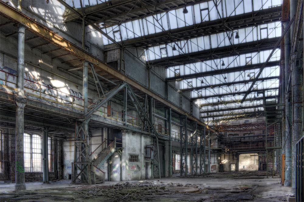 Hall of Schwermaschinenbau