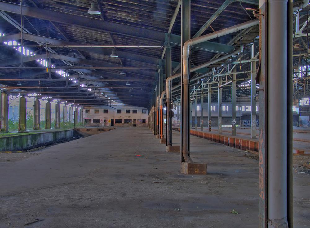 Halle des alten Güterbahnhofes