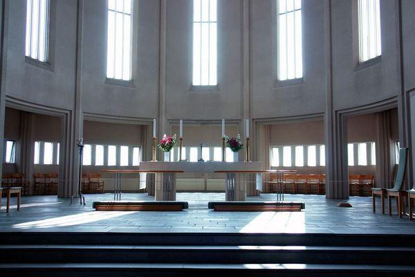 Hallgrimskirkja - Altar