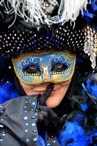 HALLia VENEZiA 2013 - Karneval der Stille - Geheimisvoller Blick
