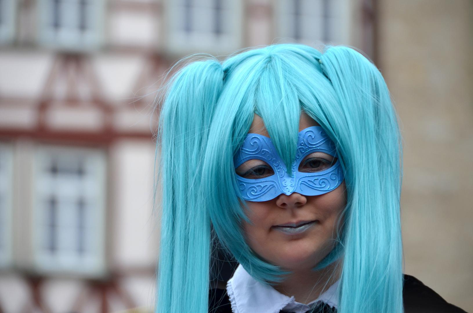 HALLia VENEZiA 2013 - Karneval der Stille - mrs. Schlumpf