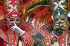 HALLia VENEZiA 2013 - Karneval der Stille - rot_grün