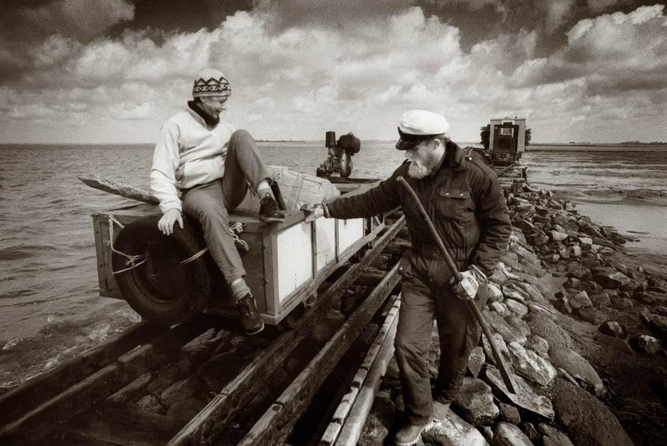 Halligen Bahn - klassische Fotografie