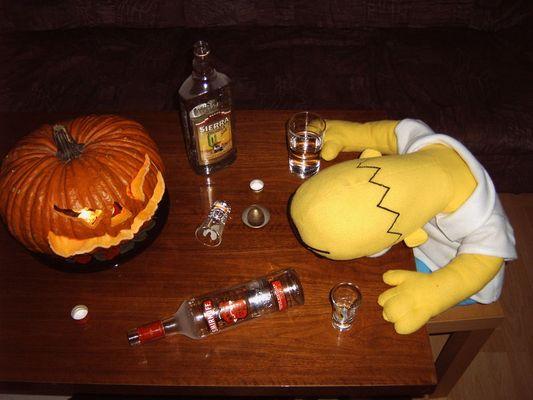 Halloween in Springfield