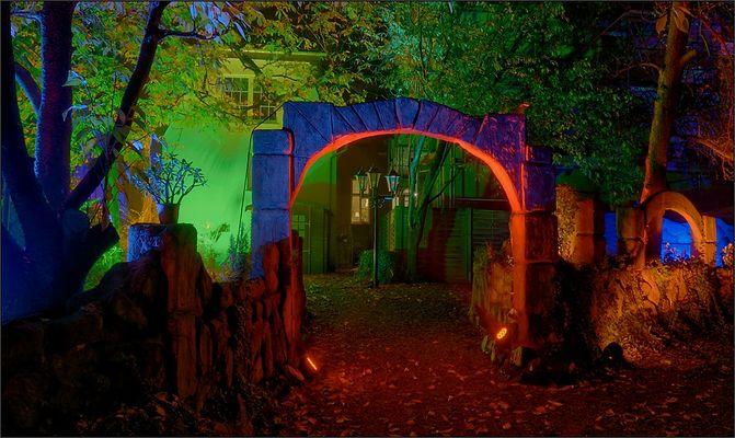 Halloween leuchtet ...