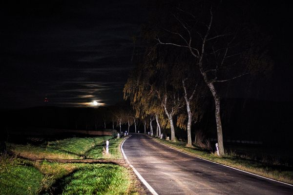 Halloween Mondnacht
