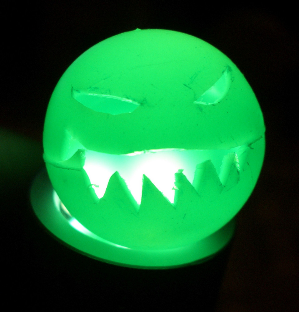 Halloween Plastikball (Nahaufnahme)