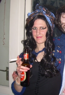 HalloweenParty Amy Winehouse Double