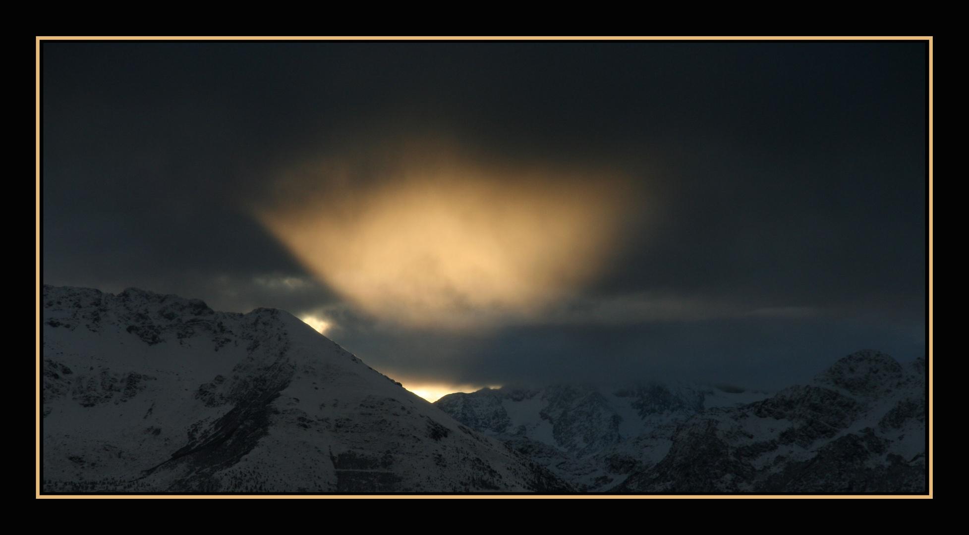 halo de lumière