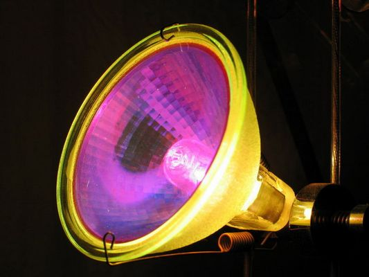 Halogen-Lampe, die 2.