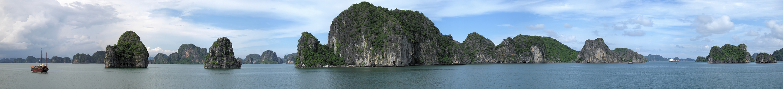 Halong - Bay Panorama