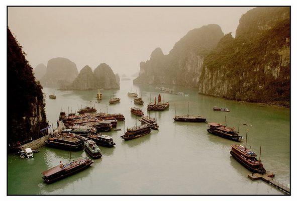 Halongbucht-Vietnam