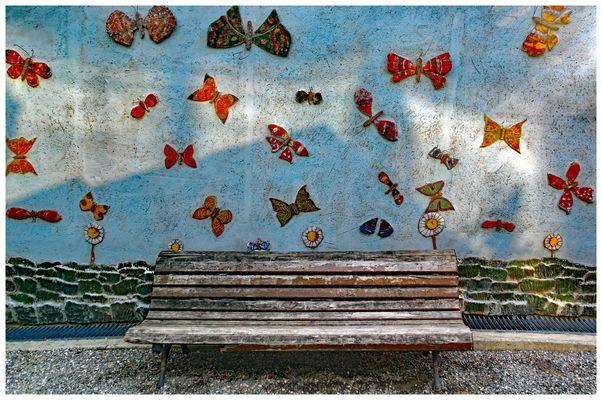 halte au paradis des papillons....