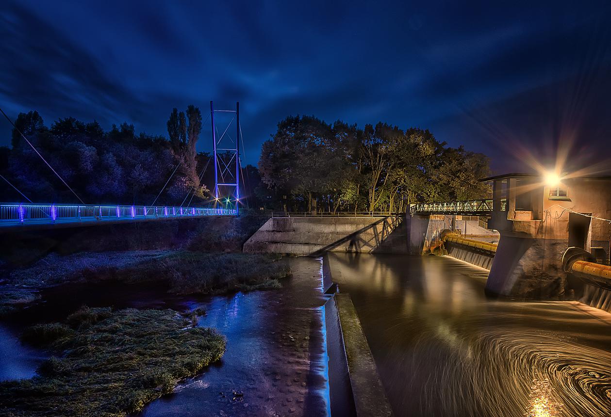 Haltern am See - Brücke & Damm (Walze)