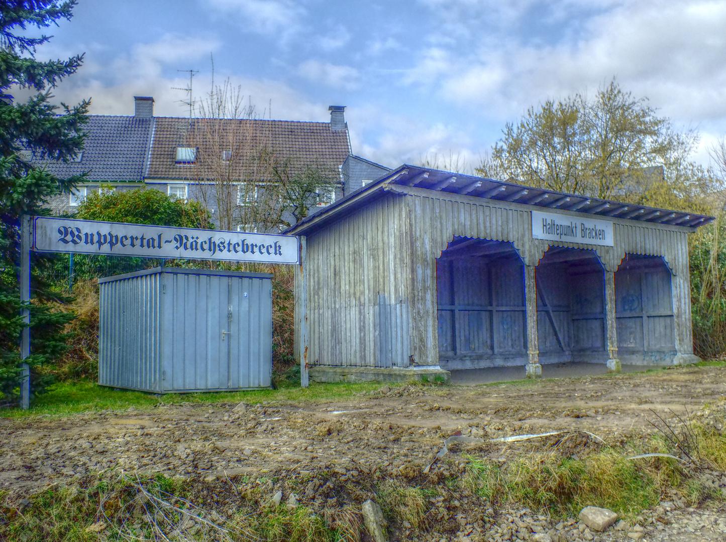 Haltestelle Wuppertal-Nächstebreck