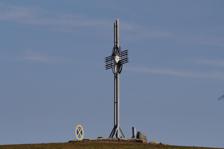 Halteverbot am Gipfelkreuz