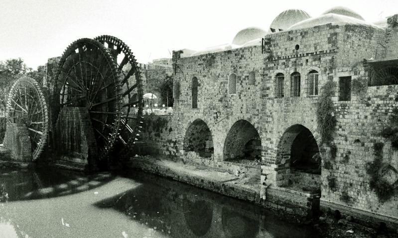 Hama, eine syrische Kleinstatdt