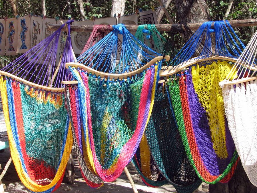 hamacs colorés