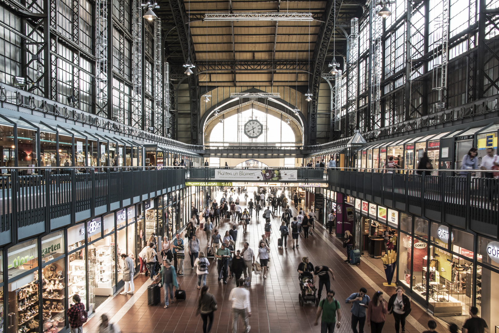 Hambourg Gare Central
