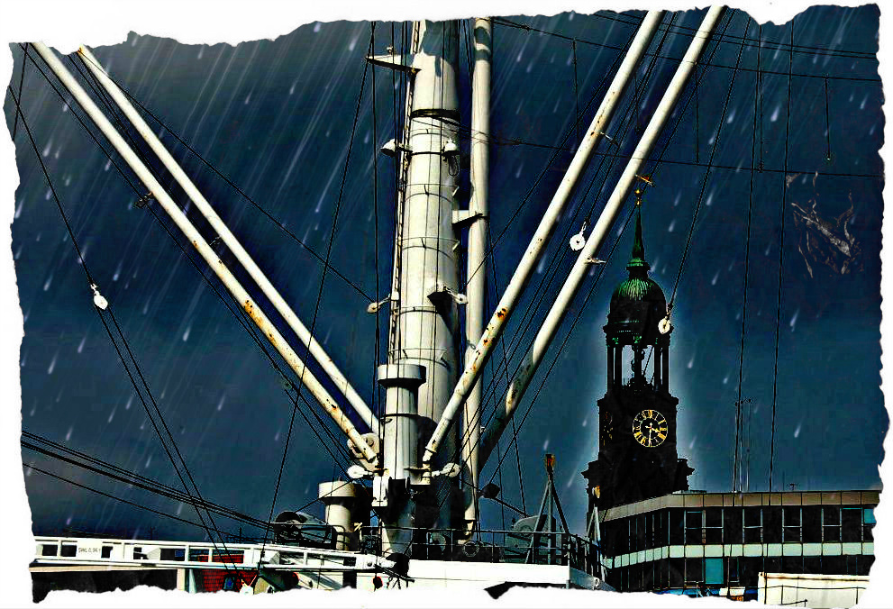Hamburg 6 °, Regen