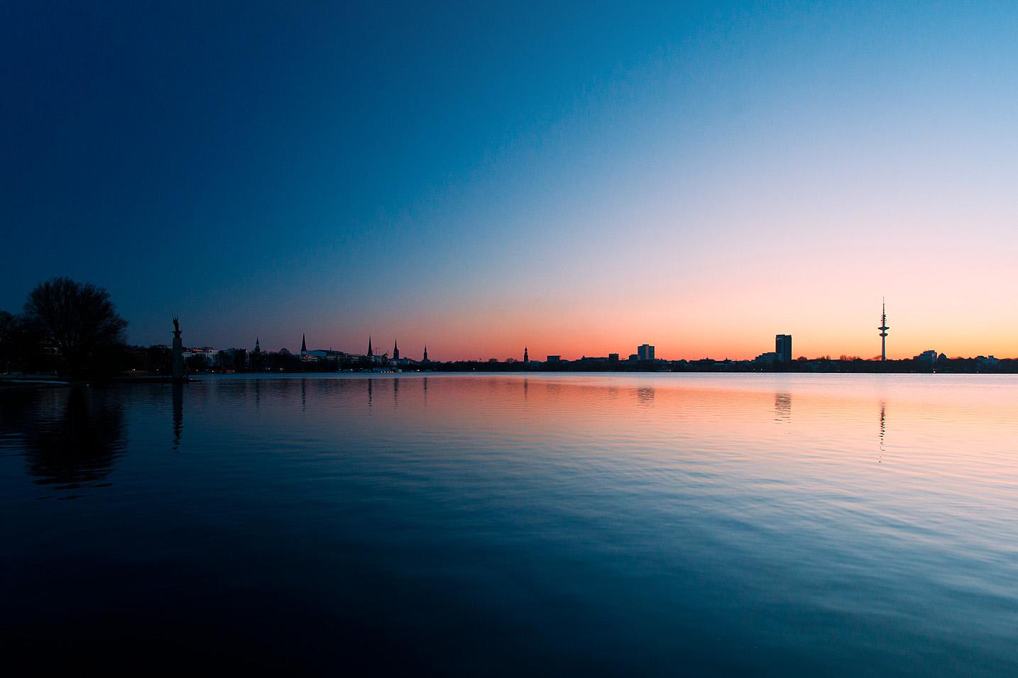 Hamburg Außenalster