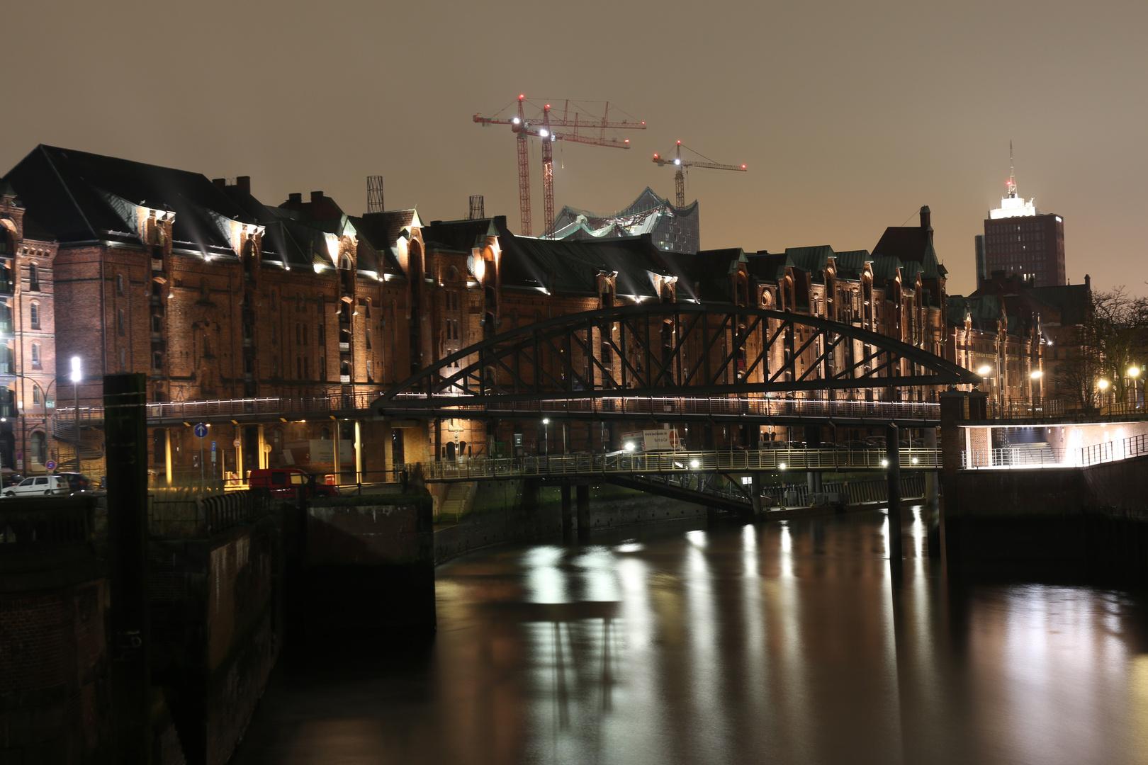 Hamburg bei Nacht, 01